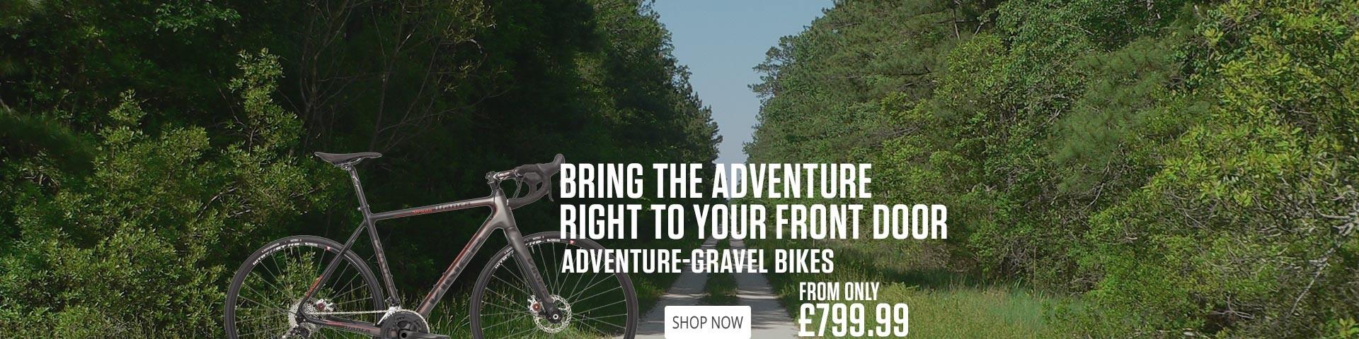 Gravel Adventure Bikes
