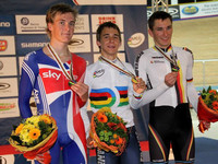 Sam Harrison takes TWO Silvers at UCI Junior Worlds