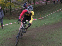 James Vickers First Cross Race