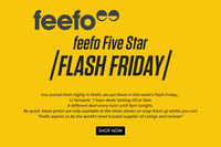 Feefo Five Star Flash Friday April 2016