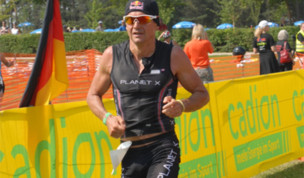 Thomas Hellriegel gets third at Rothsee Triathlon
