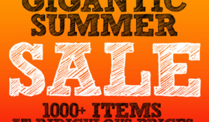 Gigantic Summer Sale