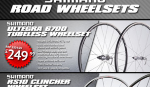 Daily Deal - Shimano Wheel Deals!