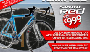 Team Alu SRAM Red