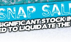 Cold Snap Sale