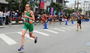 Triathlon: Morrison takes 2nd at ITU World Cup in Japan