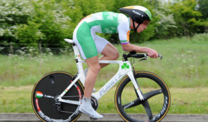 Mullen rocks at 2012 Chrono des Nations