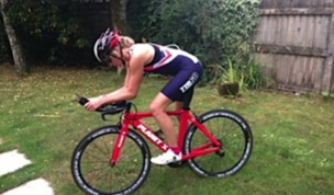 Tri-ing on my Team GB trisuit