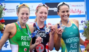 Aileen Reid Sprints to Silver in London