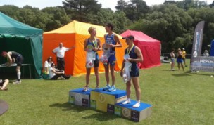 Fran Bungay Wins the Sussex Middle Distance Triathlon!