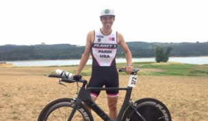 Evan Pardi Hagg Lake Sprint Triathlon Report