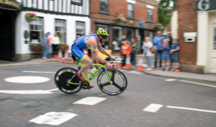 Karl Alexander The Outlaw Triathlon Race Report