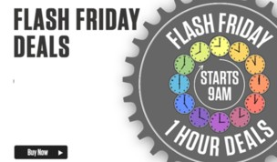 Flash Friday Returns Feb 2016