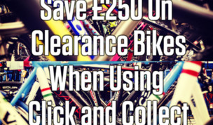 Save 250 On Clearance Bikes With Click and Collect