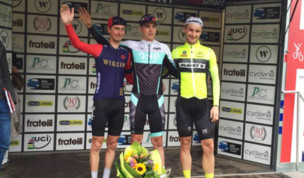 UCI Podium for Planet X-Northside at Beaumont Trophy