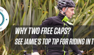 Jamie's Top Tip for Riding in the Sun