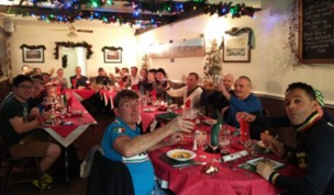 Old Boys Night Time Xmas Dinner Ride