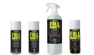 Jobsworth Full Monty Bike Lubes and Cleaners