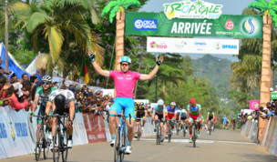 Jones wins the 5th stage of the Tropicale Amissa Bongo