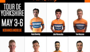 Team Holdsworth Tour De Yorkshire Lineup