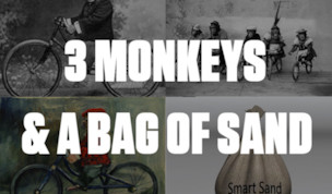 3 Monkeys and a Bag of Sand