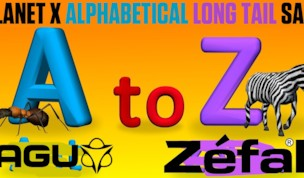 Alphabetical Long Tail Sale