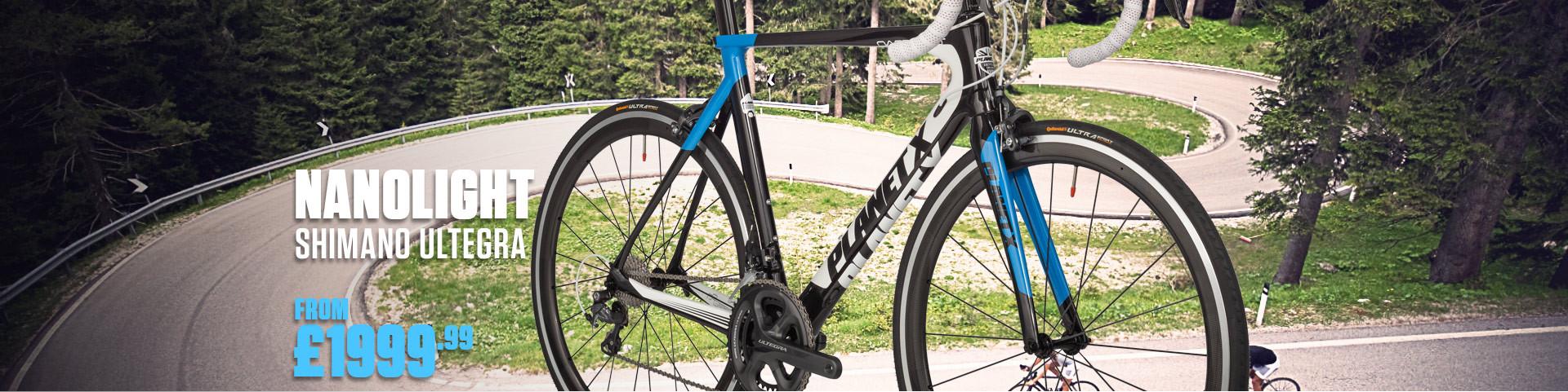 Planet X Nanolight Shimano Ultegra 6800 Road Bike