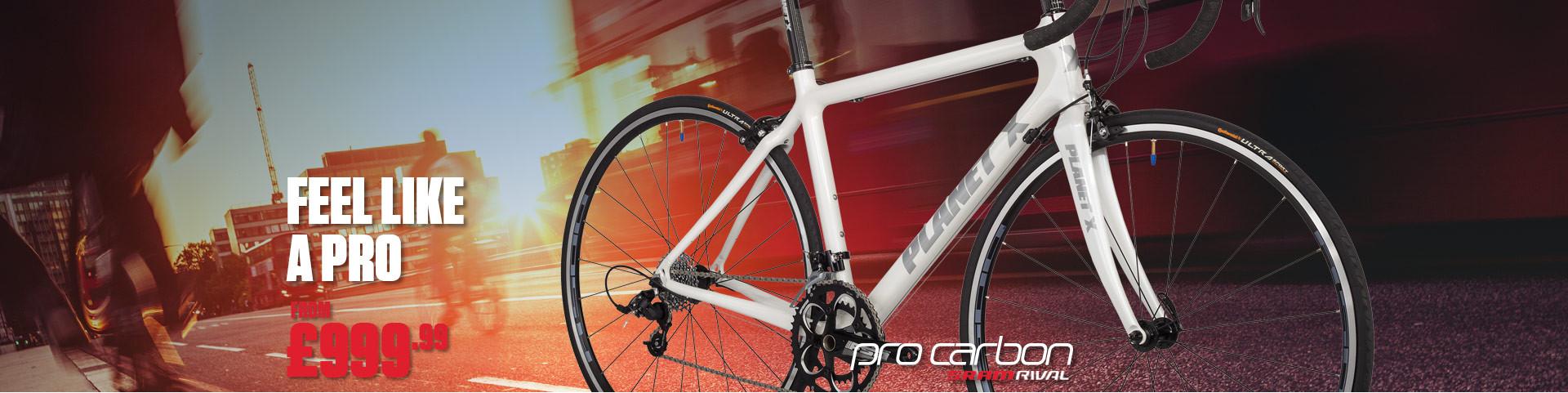 Planet X Pro Carbon SRAM Rival Road Bike