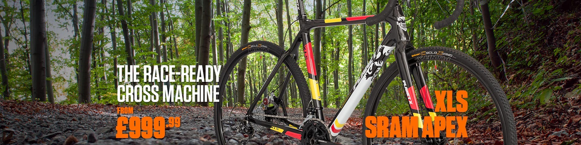 Planet X XLS SRAM APEX Cyclocross Bike