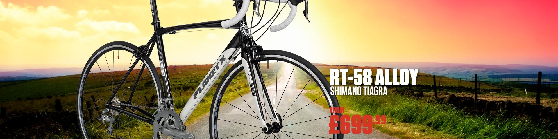 RT-58 Alloy with Shimano Tiagra