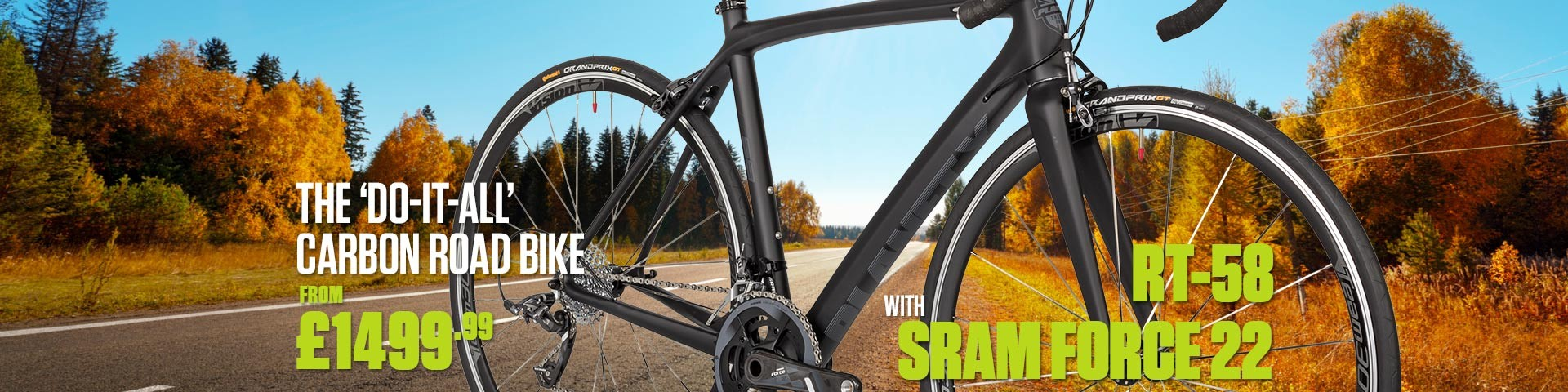 Planet X RT-58 SRAM Force 22 Road Bike
