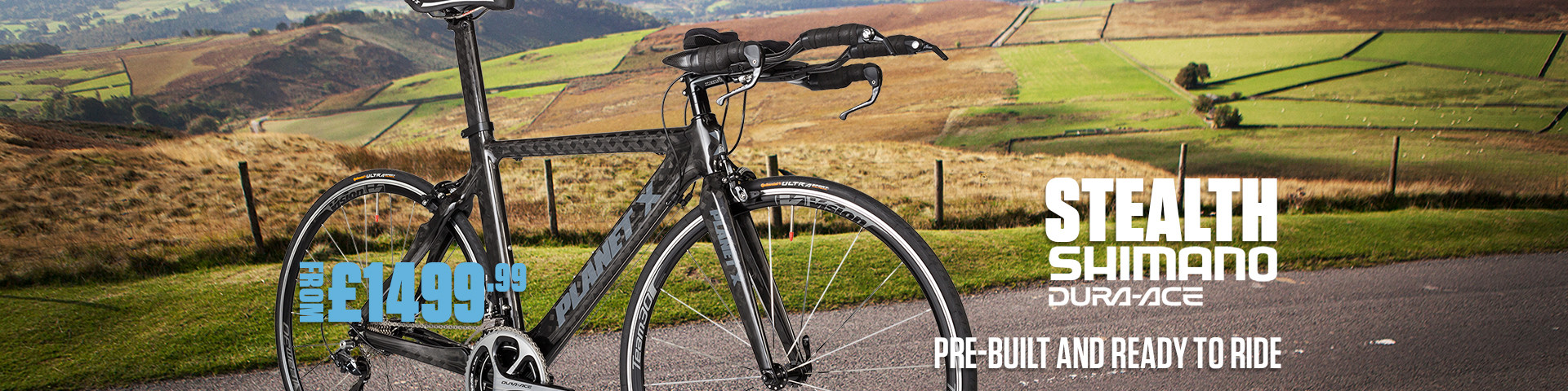 Planet X Stealth Shimano Dura-Ace 900 Time Trial Bike