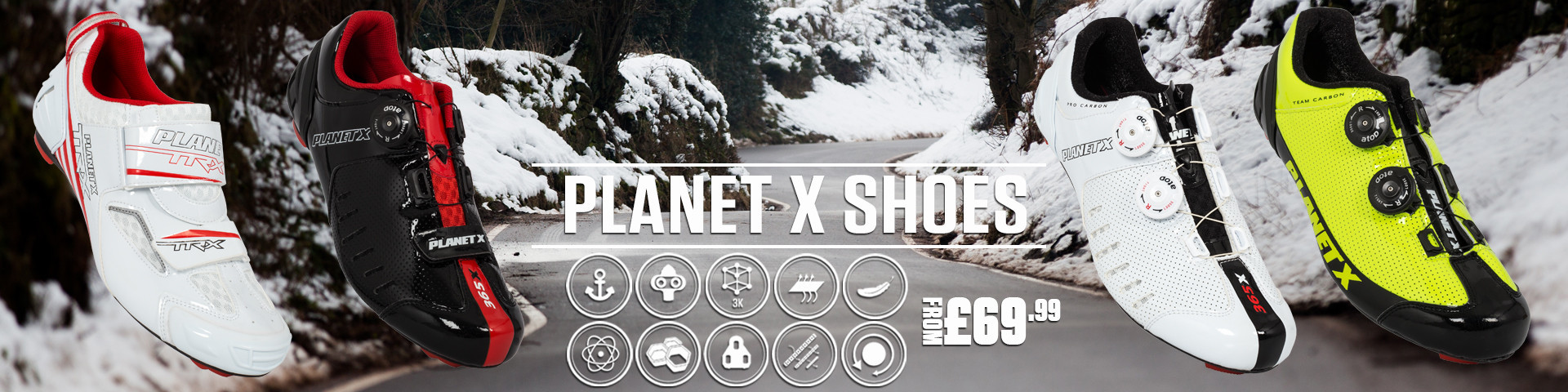 Planet X Road Shoes