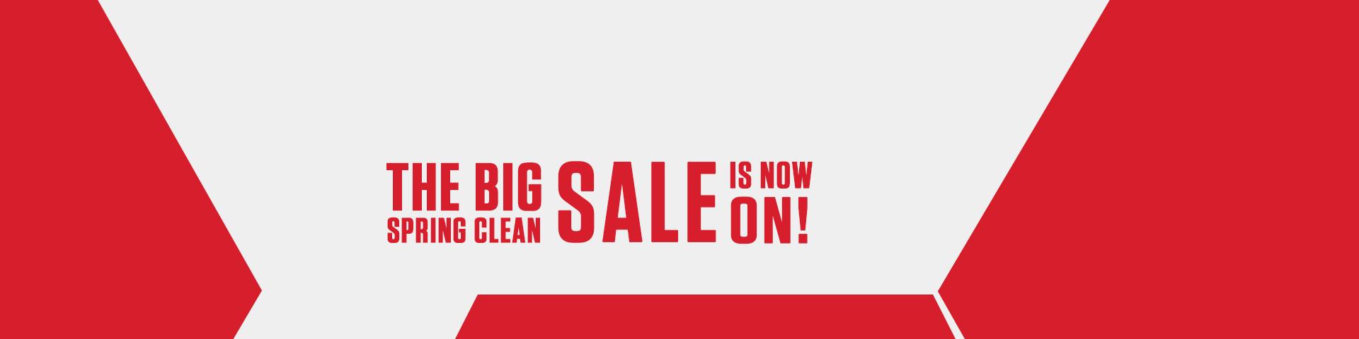 The Big Spring Clean Sale