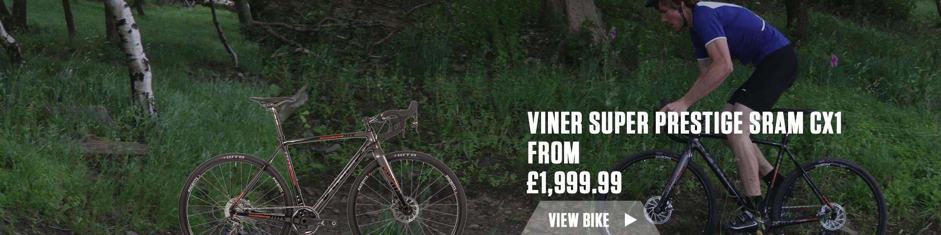 Viner Super Prestige Sram CX1 Cyclo-Cross Bike