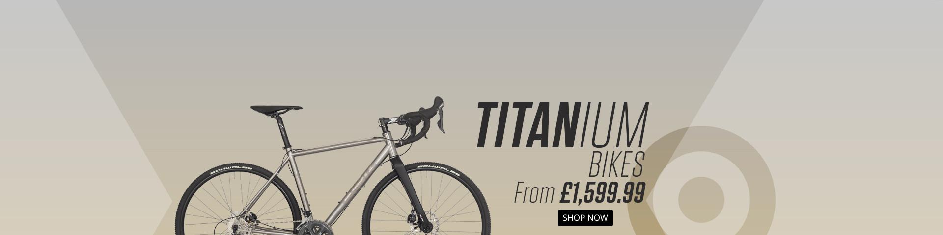New Titanium Bikes