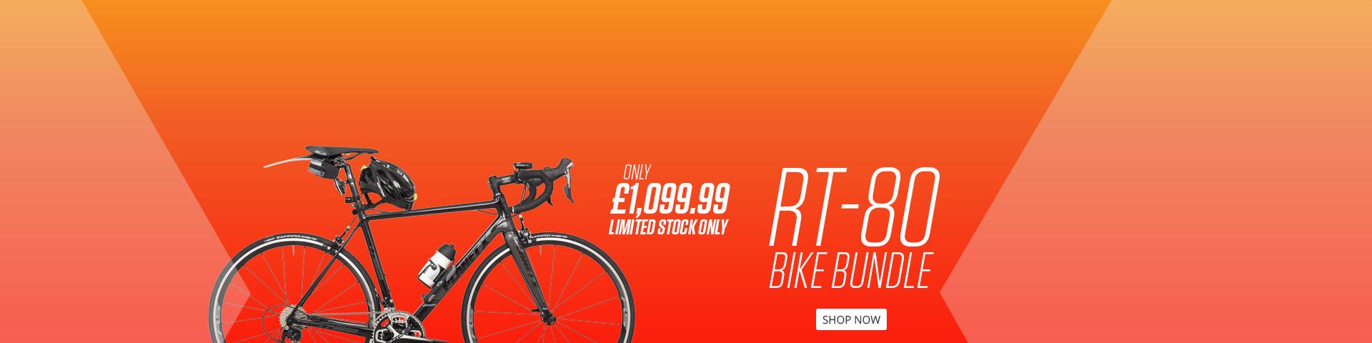 Fully Loaded RT-80 Shimano 105 Road Bike Bundle