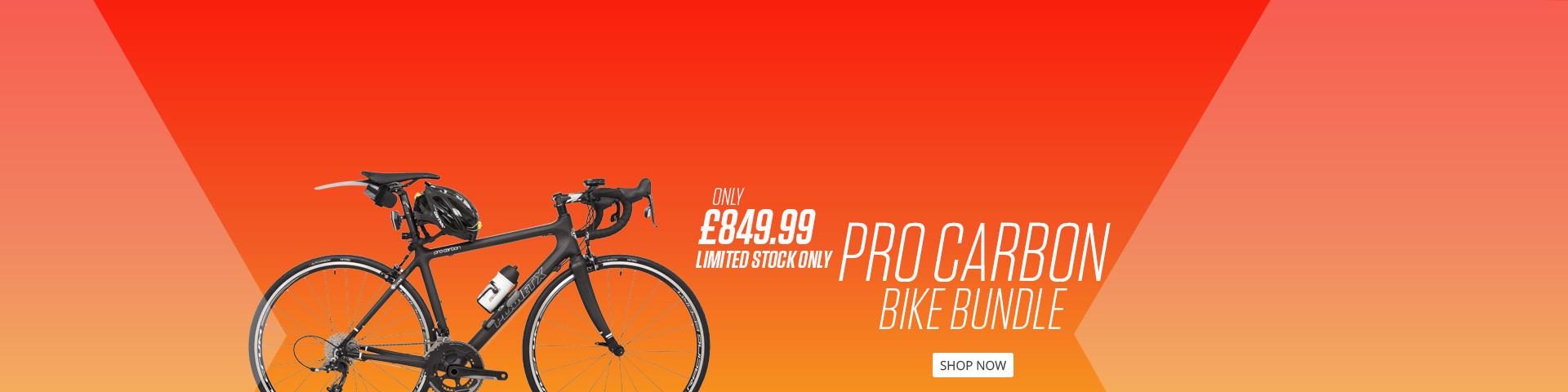 Fully Loaded Pro Carbon SRAM Rival Road Bike Bundle