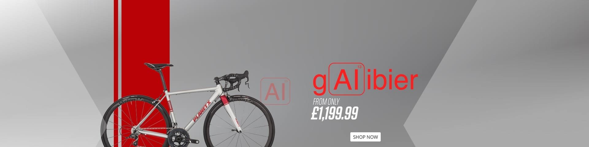 GALIBIER ALUMINIUM ROAD BIKE ARTISTRY