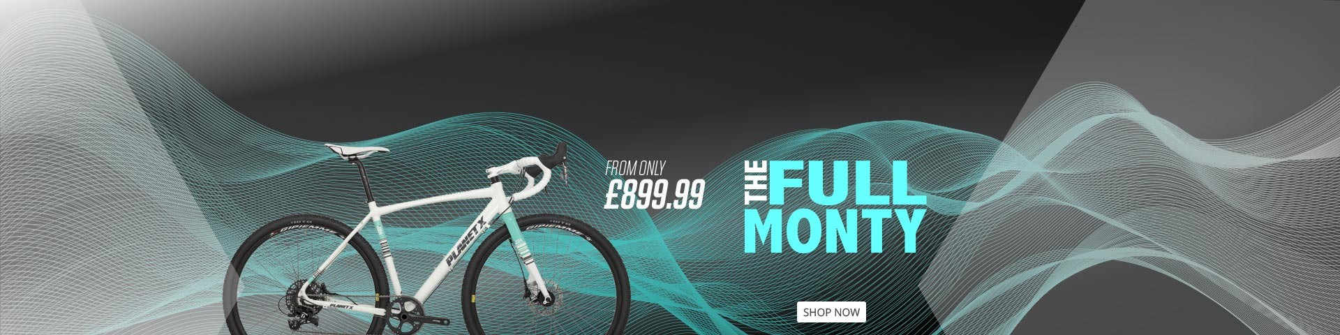 FULL MONTY ALUMINIUM GRAVEL ADVENTURE BIKE