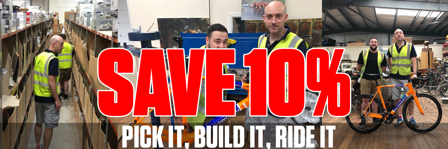 Pick It Build It Ride It and Save 10%