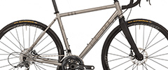 Hurricane Titanium Disc Road Bike