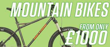 Mountain Bikes from £1000