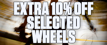 Extra 10% off Selected Wheels