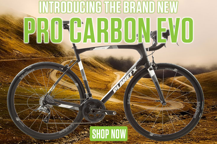 Introducing the Brand New Pro Carbon Evo Road Bike