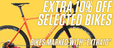 Extra 10% off Selected BIkes