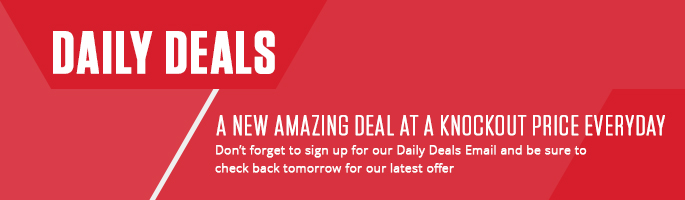 A new Daily deal every day