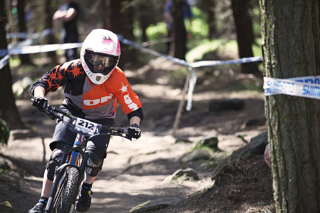 Rachael at Steel City DH