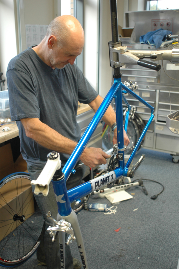 Alex Mintings Team Alu Athena bike