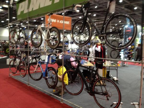 Planet X Bikes exhibit at London Bike Show 2014
